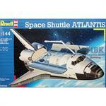 Space Shuttle Atlantis (+ ESA-Raumlaboratorium)