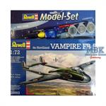 DH Vampire FB.5 Modell Set