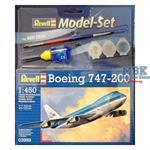 Boieng 747-200 Modell Set 1:450