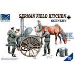 German Field Kitchen Scenery