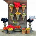 Flower Pot Set incl. Assorted Flowers