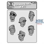 German Heads #1 WW2