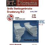 Große Steinbogenbrücke Erweiterungs-Set Nr.2