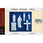 Holy figures (6 pcs.)
