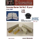 Concrete barrier Set No.2