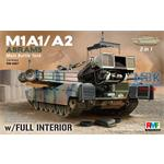 M1A1 / A2  Abrams  with Full Interior 2in1