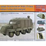 Ballistik-Messfahrzeug auf Sd.Kfz.231 basic