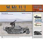 Sd.Kfz.11/1 mit MG151/20 Drilling