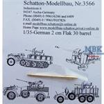 2cm Flak30 Rohr