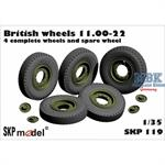 British wheels 11.00 - 22