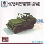 Willys MB &  M1917 MG   -- Limitiert --