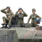 Bundeswehr Female Tank Crew