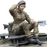 Bundeswehr Female Tank Gunner