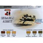 Israeli Army (IDF) Paint & Pigment Combo Set