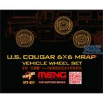 U.S. COUGAR 6X6 MRAP VEHICLE WHEEL SET