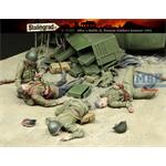 After a Battle II - Dead Soviets - 4 Figures