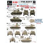 Israeli AFVs #3 M1 Sherman + AMX 13/75