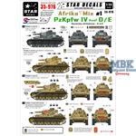 Afrika Mix #1 PzKpfw IV Ausf D/E