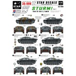 Sturm #1. StuG III Ausf A, C and D. France / E.Fr