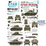 US 70th Tank Battalion on Utah Beach