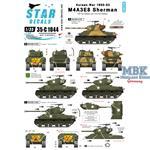 Korean War M4A3E8 Sherman 'Tigerface'