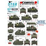 Cambodia 1 - M113 APCs in the 1970s