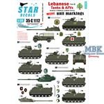 Lebanese Tanks & AFVs 5