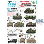 Lebanese Tanks & AFVs 6