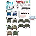 Lebanese Tanks & AFVs 8