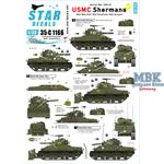 USMC Shermans - Korean War 1950-53.