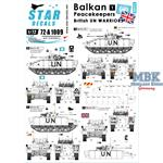 Balkan Peacekeepers #1. British UN Warriors