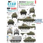 British Special Shermans