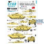 British Tanks and AFVs