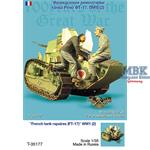 France Tank repaires FT-17 WWI