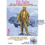 British SAS Crew Member Land Rover  Pink Panther