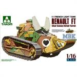 Renault FT-17 Char Canon (Girod turret) 1:16