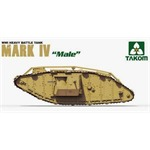 WWI heavy battle tank Mark IV Male
