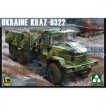Ukraine Kraz-6322 late heavy truck