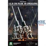 WW2 German 12,8cm Flak40 Zwilling