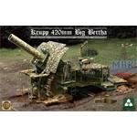 German 420mm Big Bertha Siege Howitzer