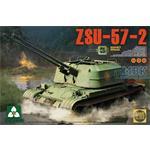 Soviet SPAAG ZSU-57-2  2 in 1