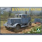 German Tractor Hanomag SS100