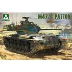 US Medium Tank  M-47 Patton inkl. BW Version