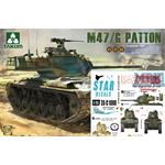 Special: M-47 Patton inkl.Star Decals: Middle East