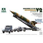 V-2 Rocket+ Meillerwagen+Hanomag SS100