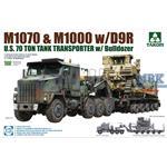 M1070 Tank Transporter w/D9R Bulldozer