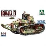 Renault FT-17 char canon / Berliet turret  1:16