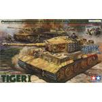 Tiger I late w/ Ace Commander + Crew   -Limitiert-
