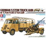 German 3.5t truck AHN w/3.7cm Flak 37 AA Gun