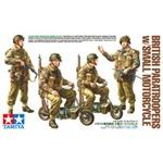WWII Brit. Fallschirmjäger mit Motorrad